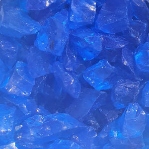 Cobalt Blue Glass Fragments 250gm