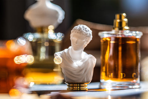 MDCI Parfums Bust, Perfume bottle