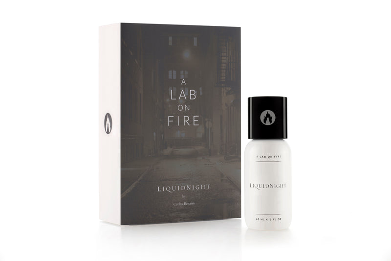 A Lab On Fire Liquid Night Fragrance. Perfume with box