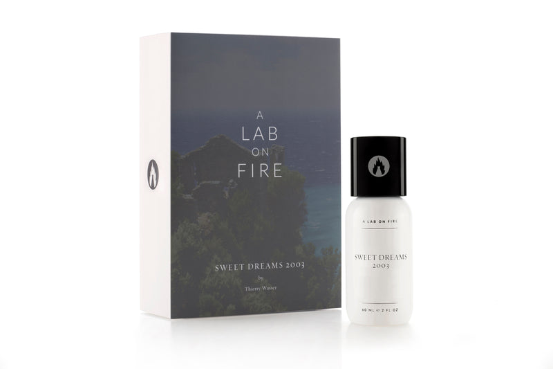 A Lab On Fire Sweet Dreams 2003 Fragrance. Perfume with box
