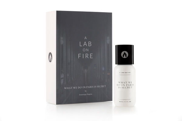 A Lab On Fire What We Do In Paris Is Secret Fragrance. Perfume with box