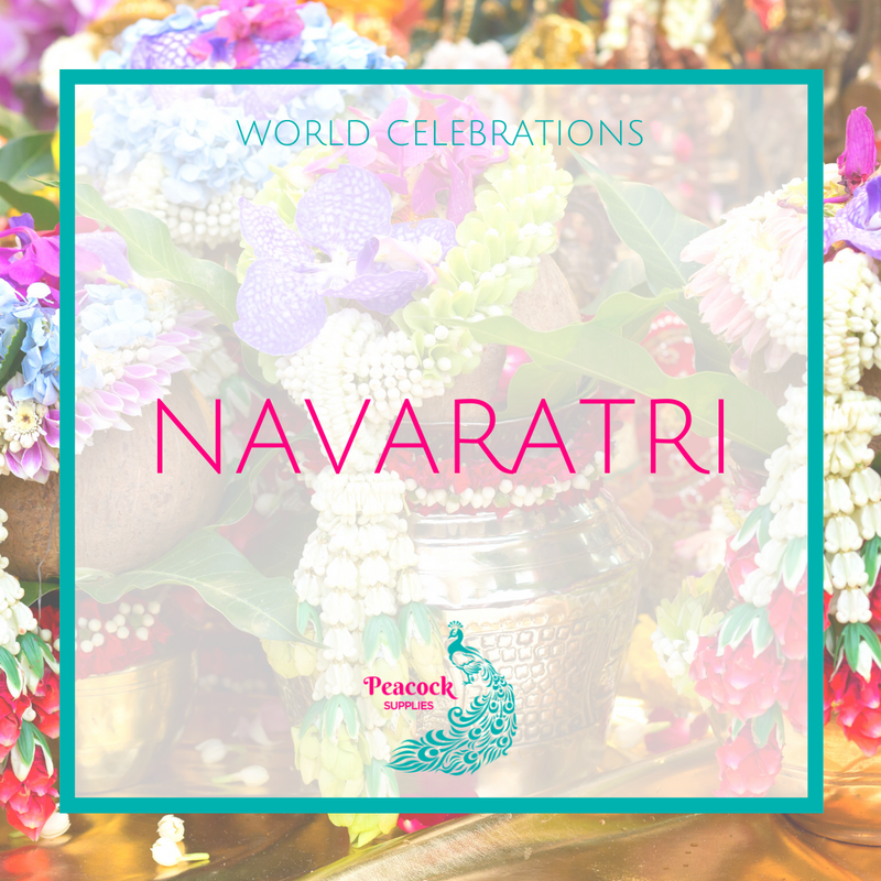 What is Navaratri and how is it celebrated around the world?
