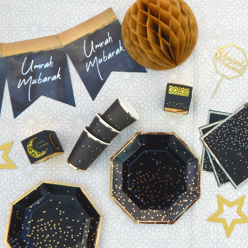 Click to see our Umrah collection and matching party accessories!
