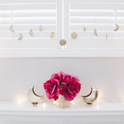 moon star garland - ramadan decor