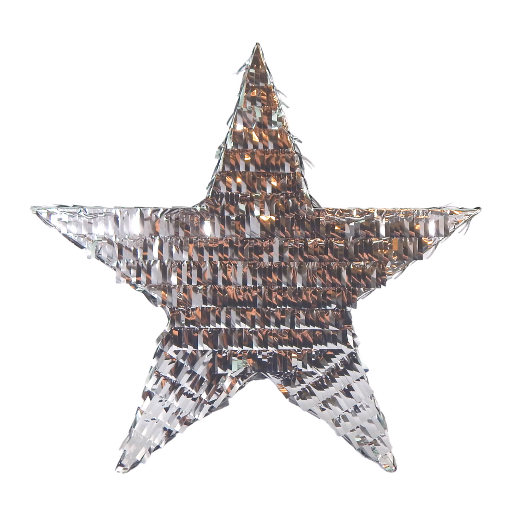 Star Pinata - Silver - Peacock Supplies