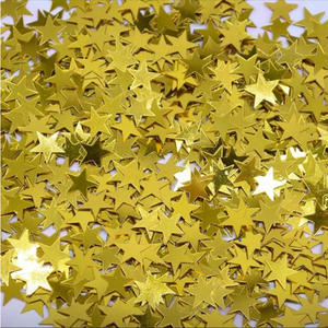 Star Confetti - Gold - Peacock Supplies