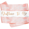 Team Dulhan & Dulhan To Be Sashes - 8 pack - Peacock Supplies