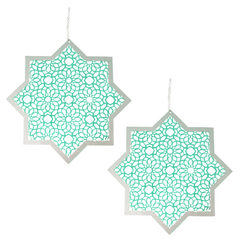 Hanging Star and Chain - 2pk