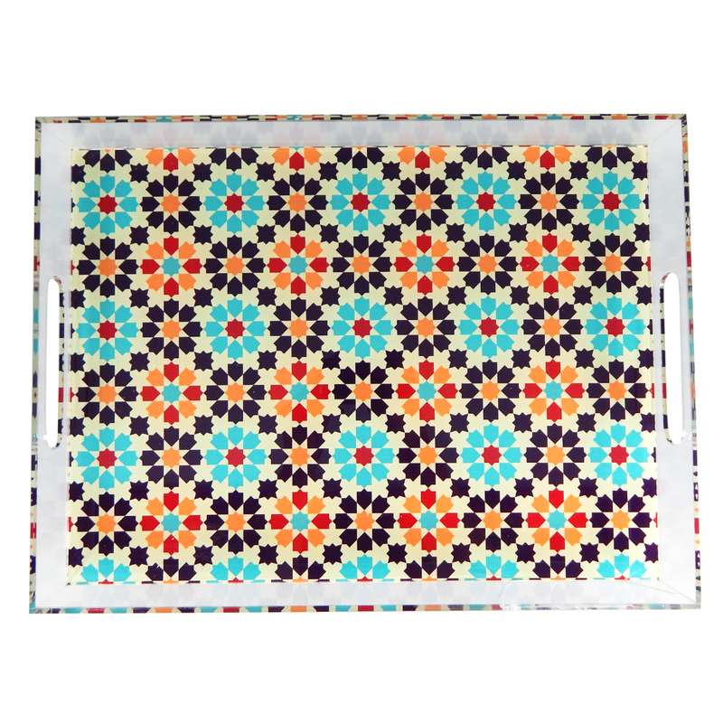 Acrylic Serving Tray - Cairo