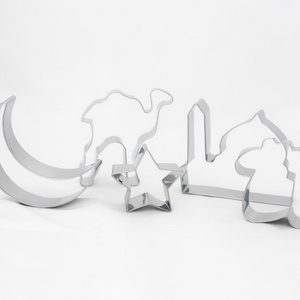 Islamic Shapes Cookie Cutters - 5 pack