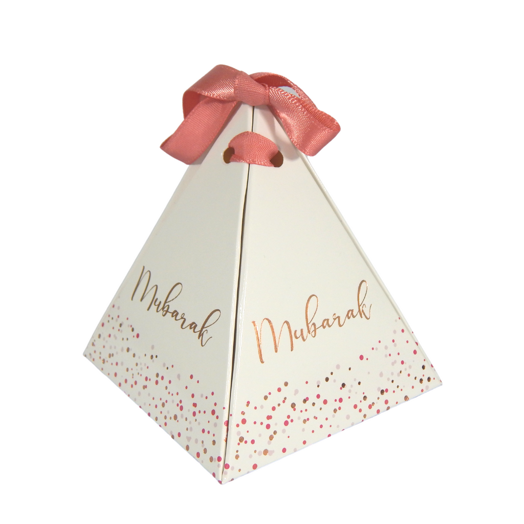 Mubarak Confetti Favour Boxes - 10 pack