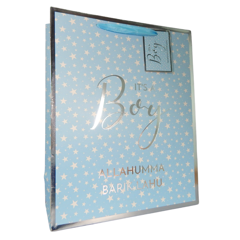 Baby Boy Gift Bag - Peacock Supplies
