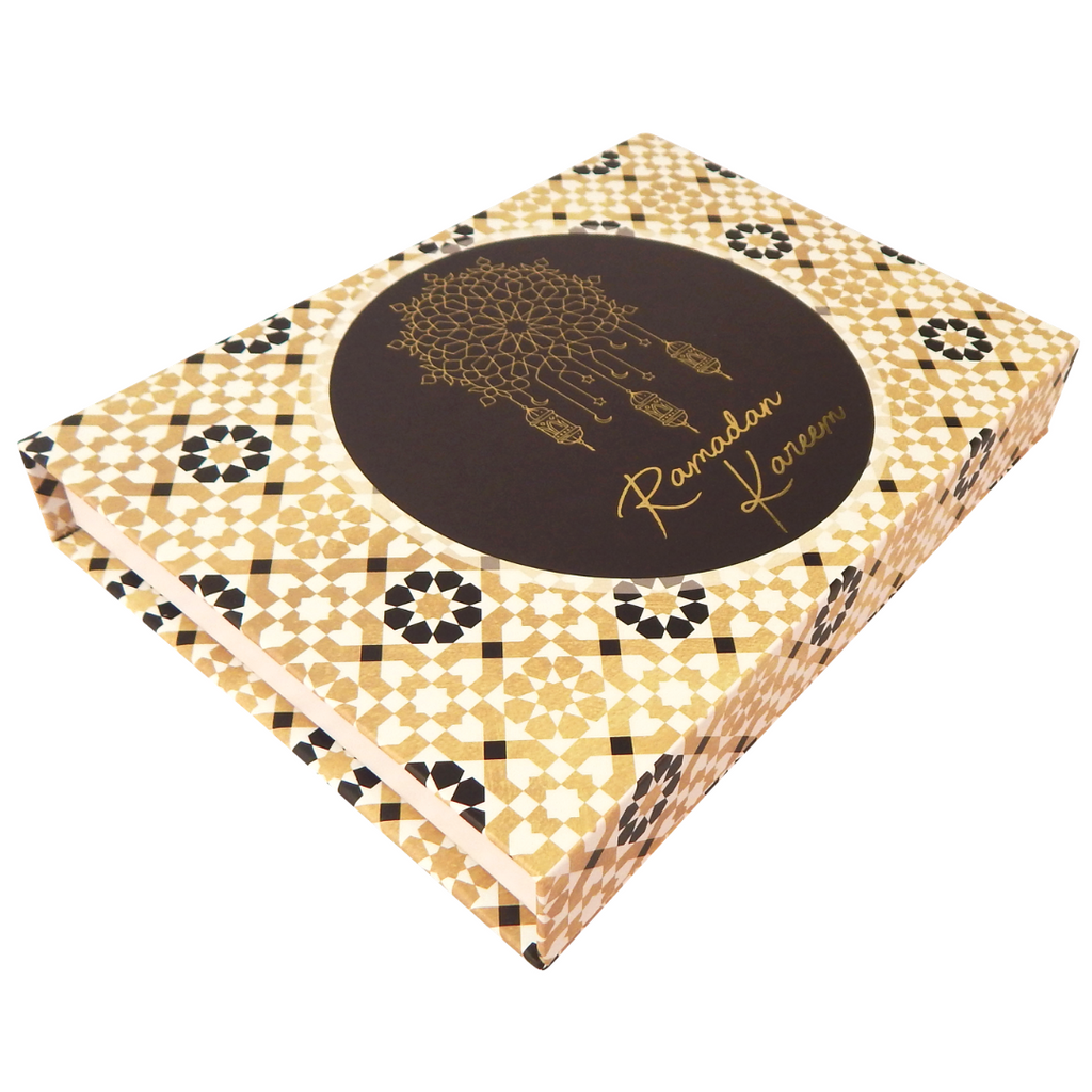 Ramadan Kareem Gift Box - Black & Gold - Peacock Supplies