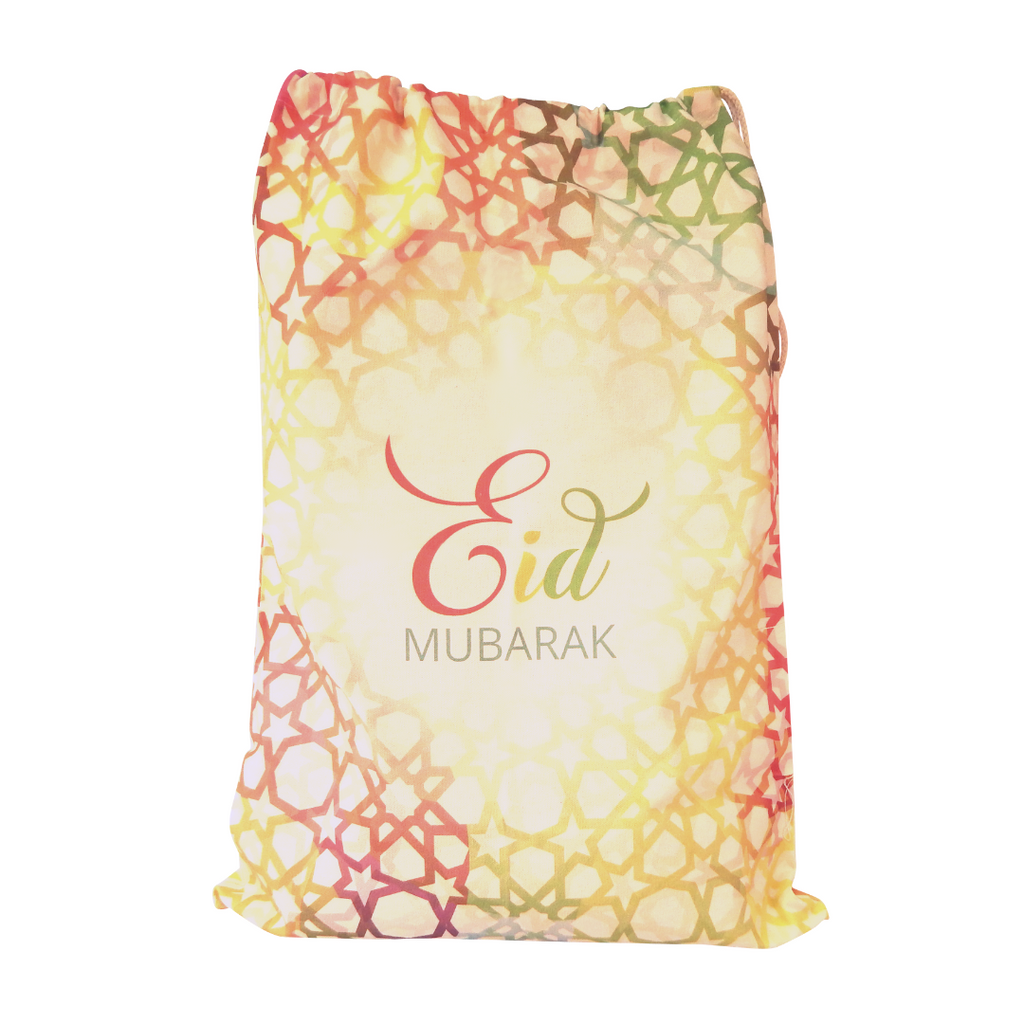 Eid Mubarak Sacks - Large - Peacock Supplies