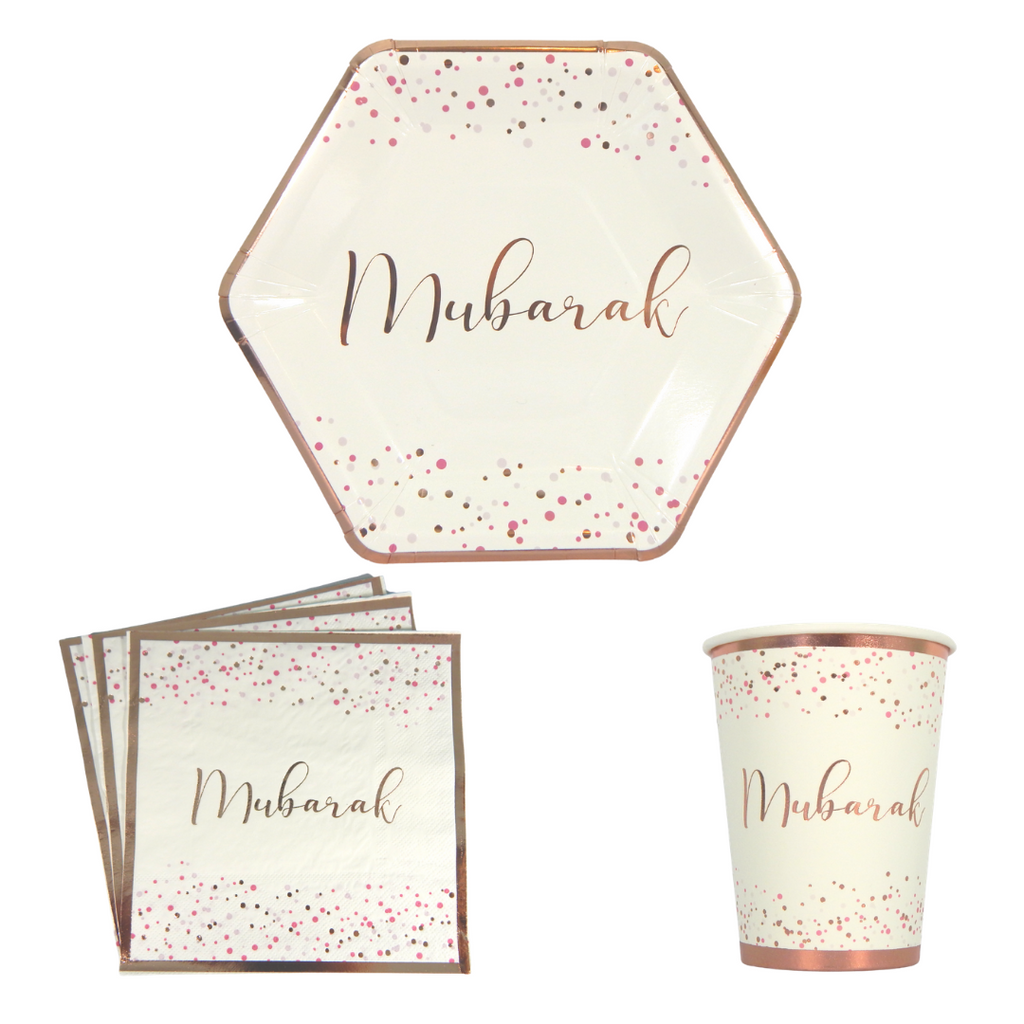 Mubarak Party Pack - Confetti - Peacock Supplies