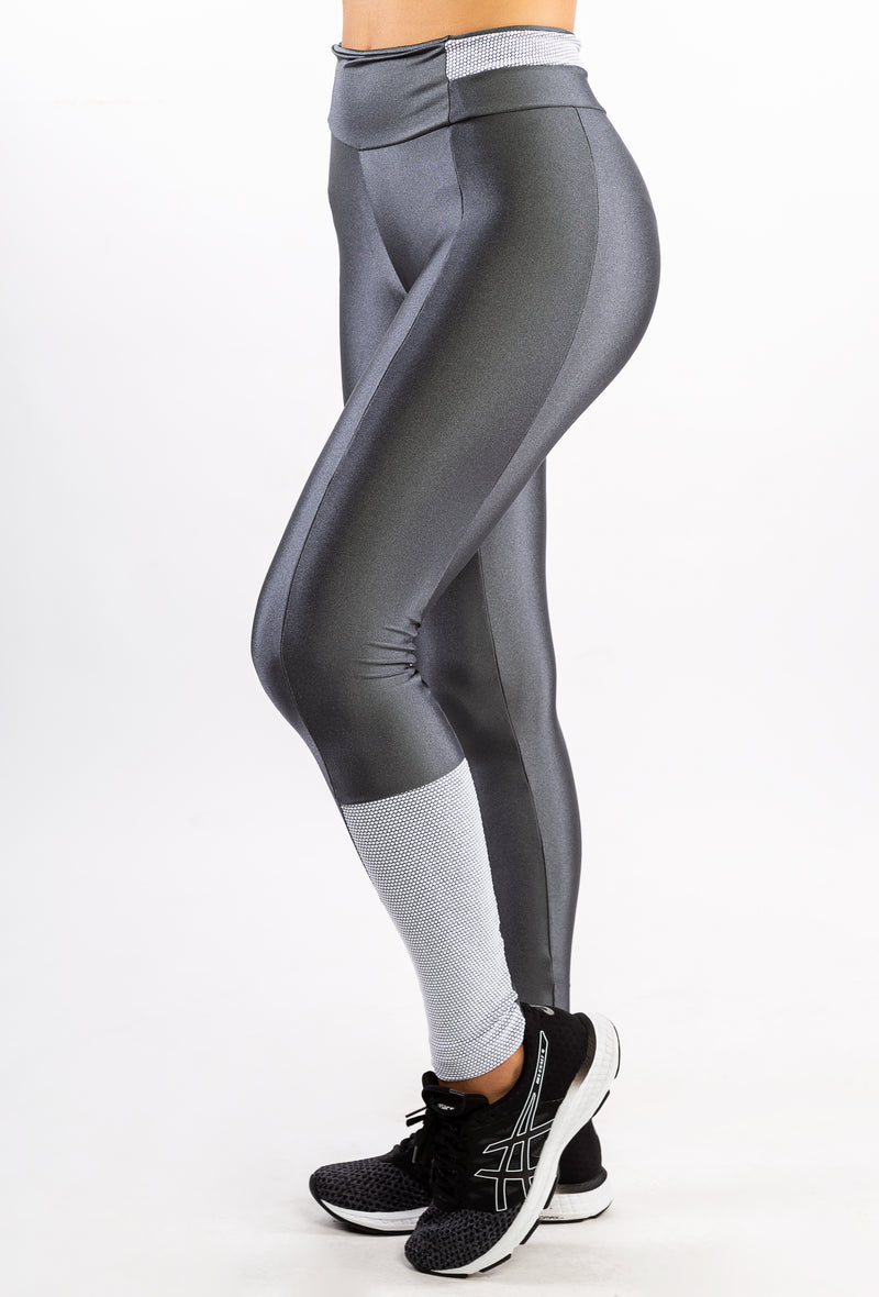 Trend Metal Graphite Legging