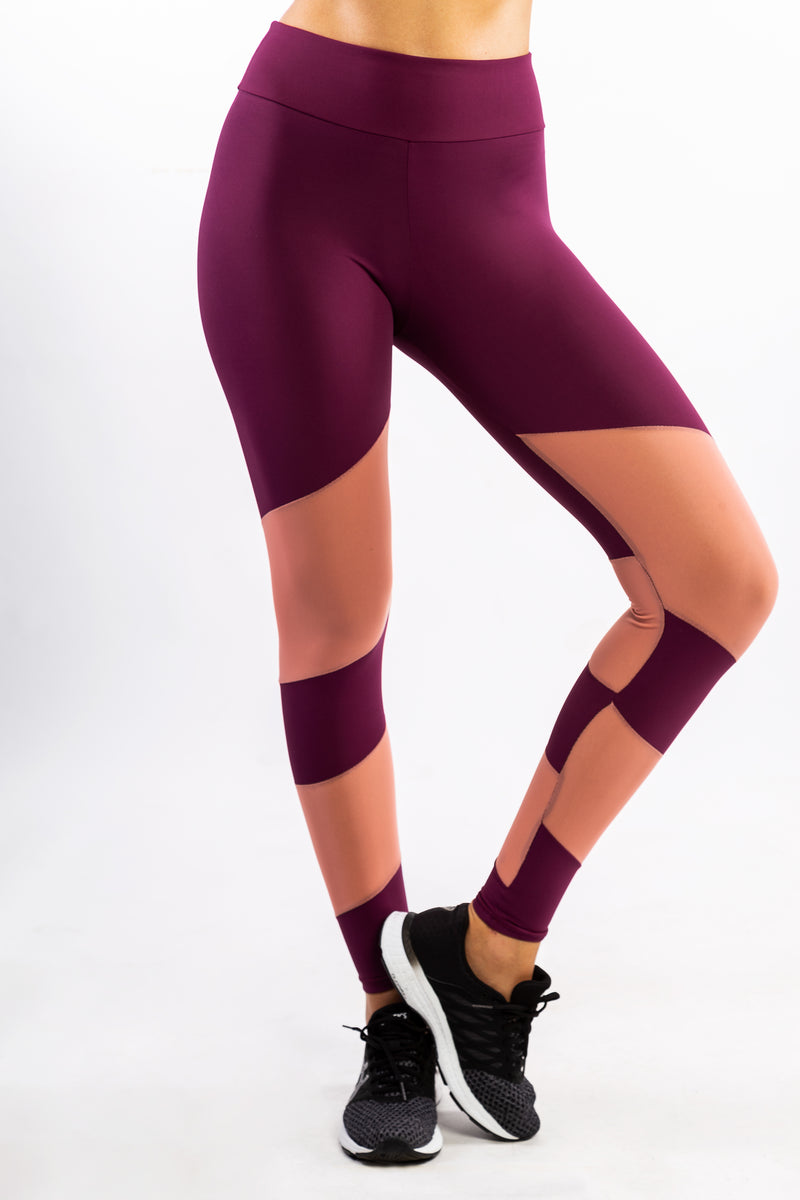Urban Legging in Wine Rosé