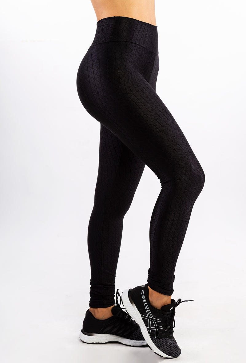 Textured Polyamide Legging