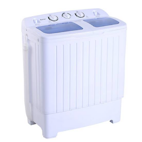 Giantex Compact Twin Tub Portable Washing Machine