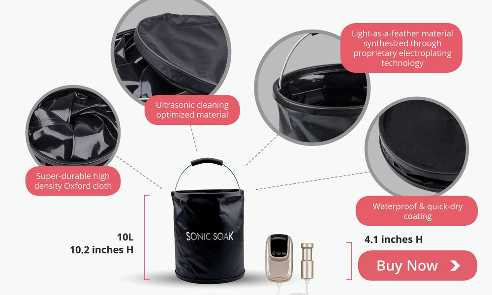 Sonic Soak Accessories - Collapsible Bucket