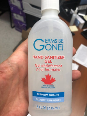 Hand Sanitizer - 236mL Sold by Pallet only! GERMS BE GONE