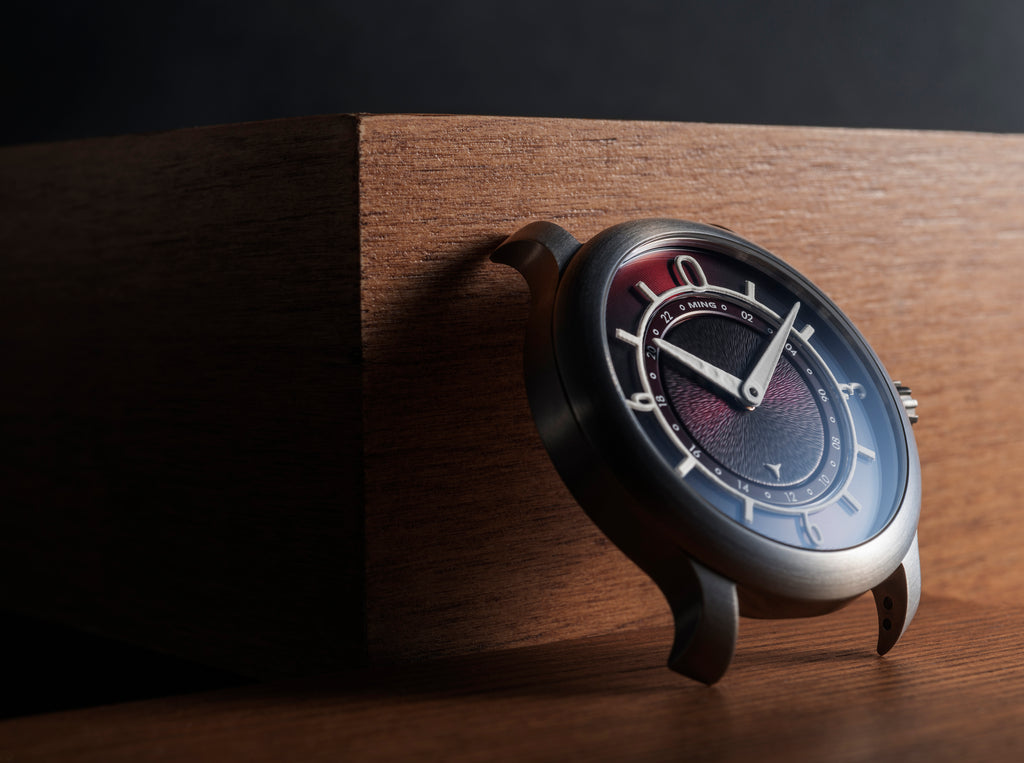MING 17.03 GMT - Burgundy dial, with Bracelet and Straps