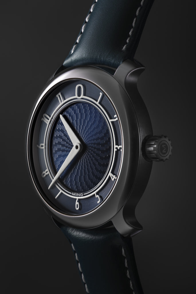 MING 17.01 - Blue dial