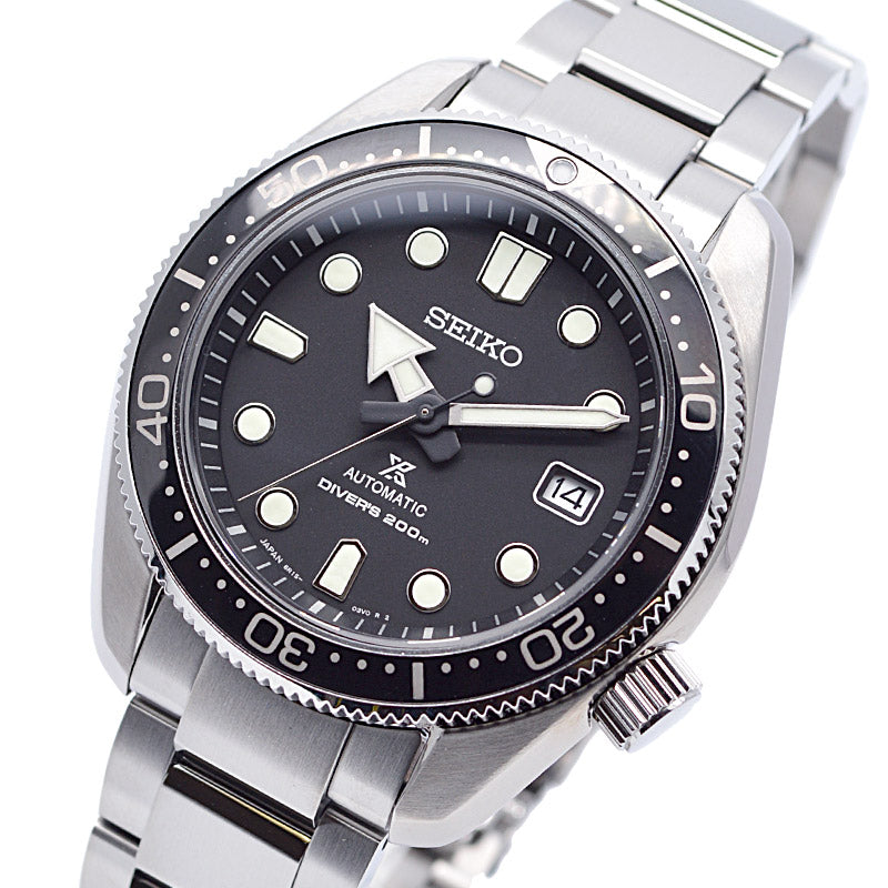 SEIKO SBDC061 Made In Japan 6R15 Automatic MM200 Diver's Watch- Black Dial
