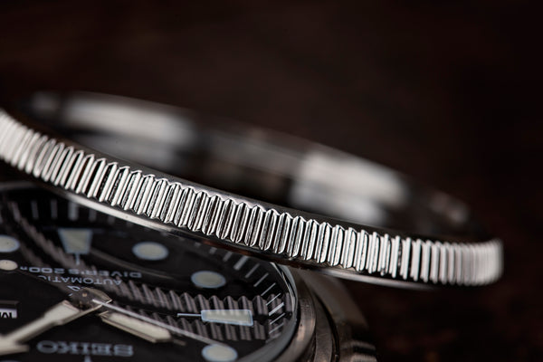 Seiko Turtle SRP77X Stainless Steel Coin Edge Bezel