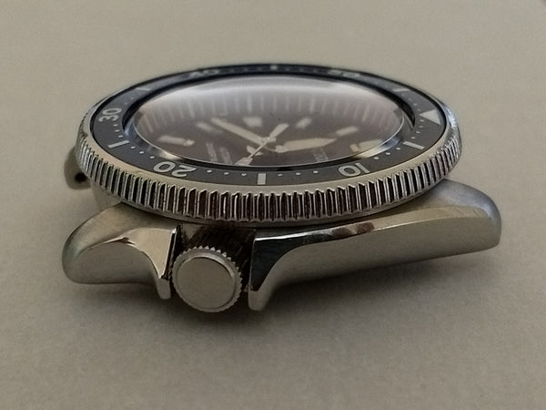 Seiko SKX Stainless Steel Coin Edge Bezel