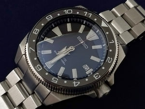 Seiko Samurai GMT Coin Edge Bezel Kit- Black