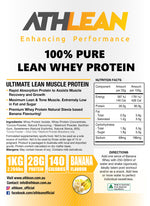 1kg Whey Protein Banana flavour