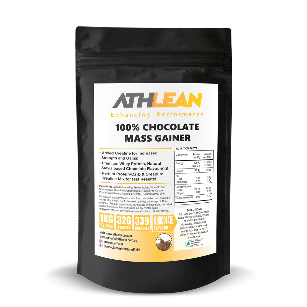 1kg Mass Gainer Chocolate flavour