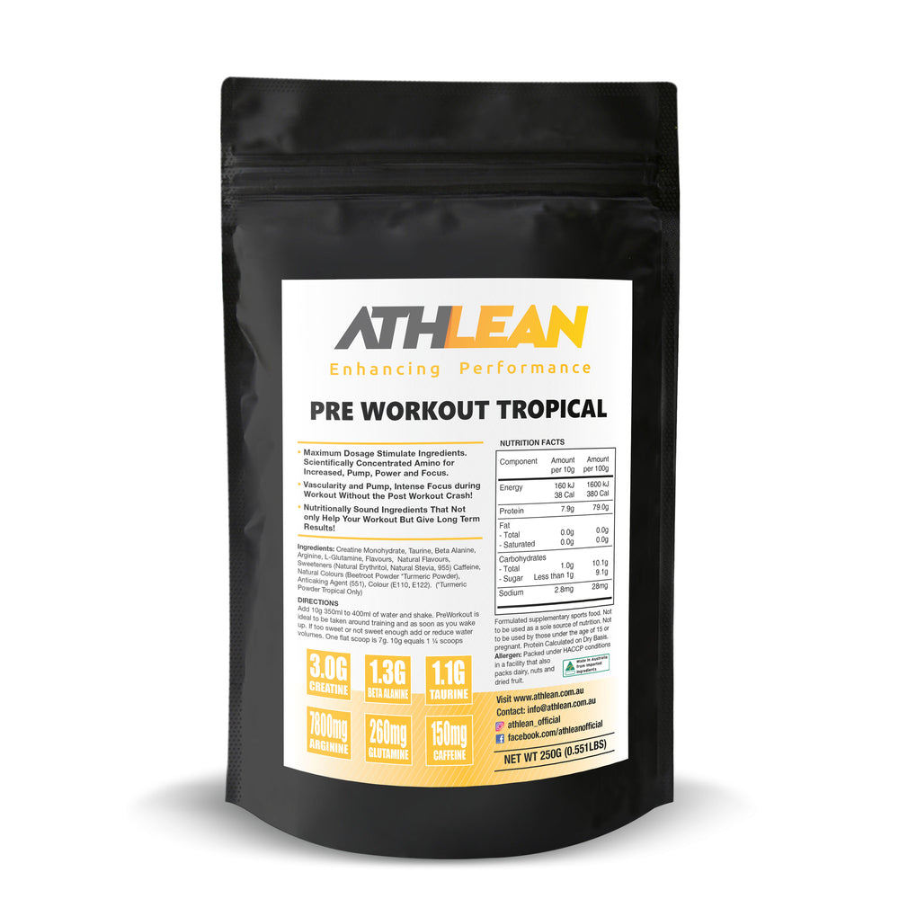 250g Tropical Pre Workout
