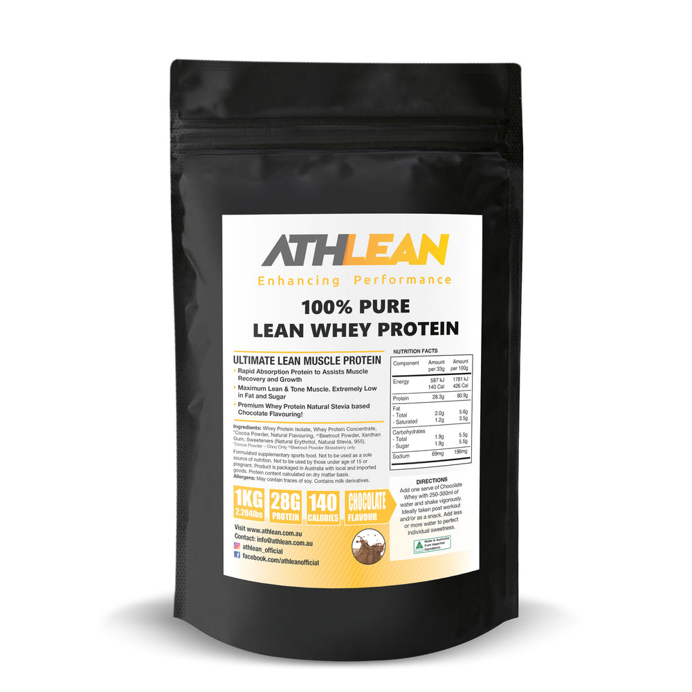 1kg Whey Protein Chocolate flavour