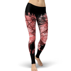 Picture of Supernatural tights in pink.