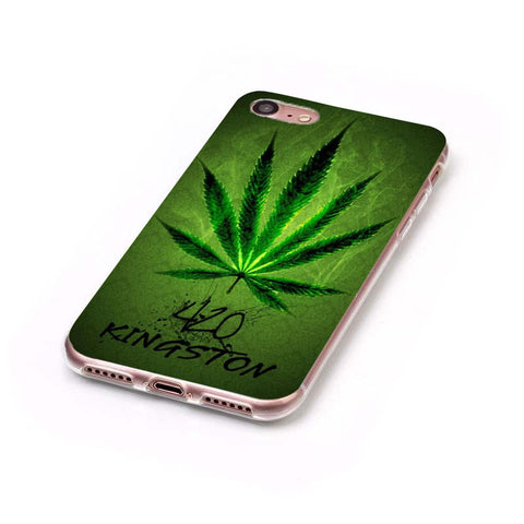 Smoke Weed Transparent Case for iPhone 5, 5s, 5SE, 6, 6 Plus, 6s, 6s Plus, 7, 7 Plus