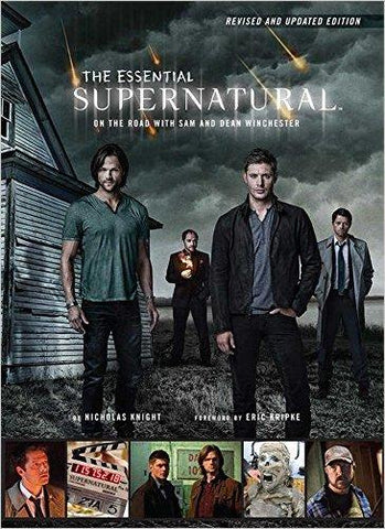 Cover of The Essential Supernatural On The Road book.