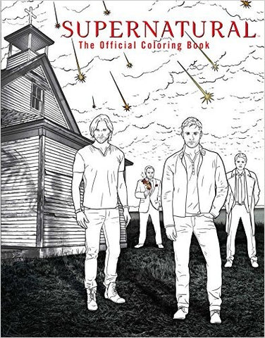 Cover of Supernatural Coloring Book