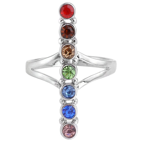 Picture of 7 chakra ring.
