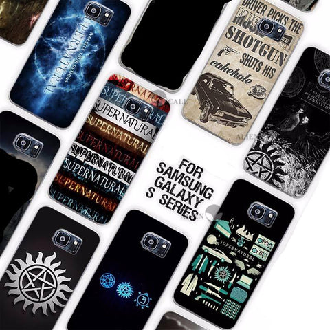 Picture of some of the phone cases available with this product.