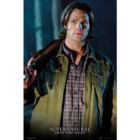 Picture of Sam Winchester poster.
