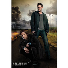 Picture of Sam and Dean Winchester poster.