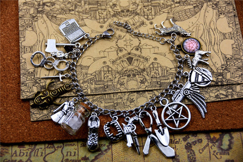 Picture of Supernatural bracelet in sterling silver.