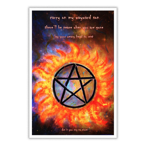 Love Supernatural Poster
