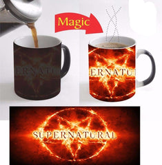 Picture of Supernatural morphing mug.