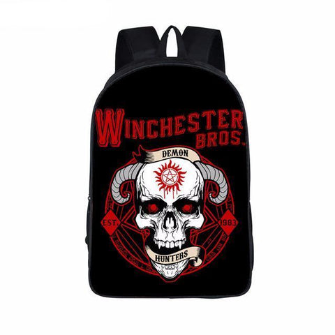 Supernatural backpack - Winchester Boys - Demon Hunters