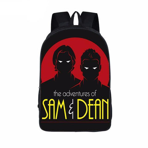 Supernatural backpack - Sam and Dean Shadows