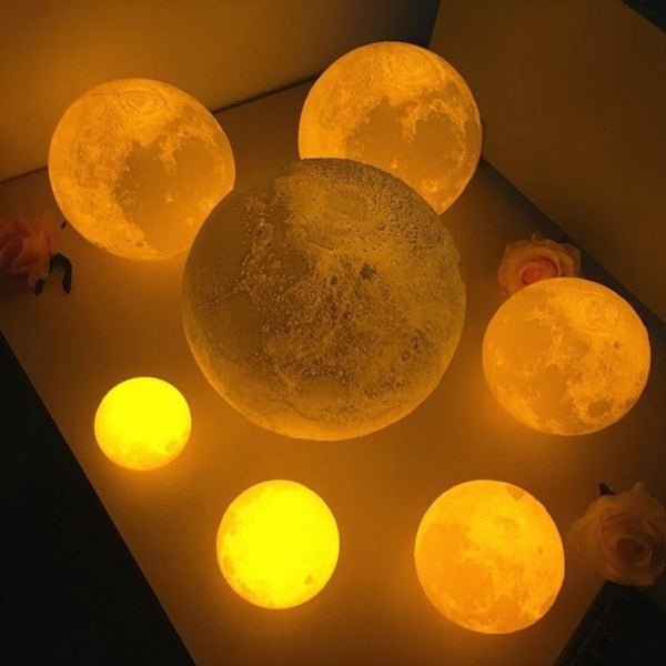 3D Print Touch Sensor USB LED  Moonlight Night Light - ilovealma