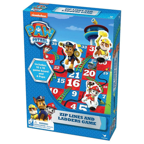 Paw Patrol Zip Lines and Ladders Game